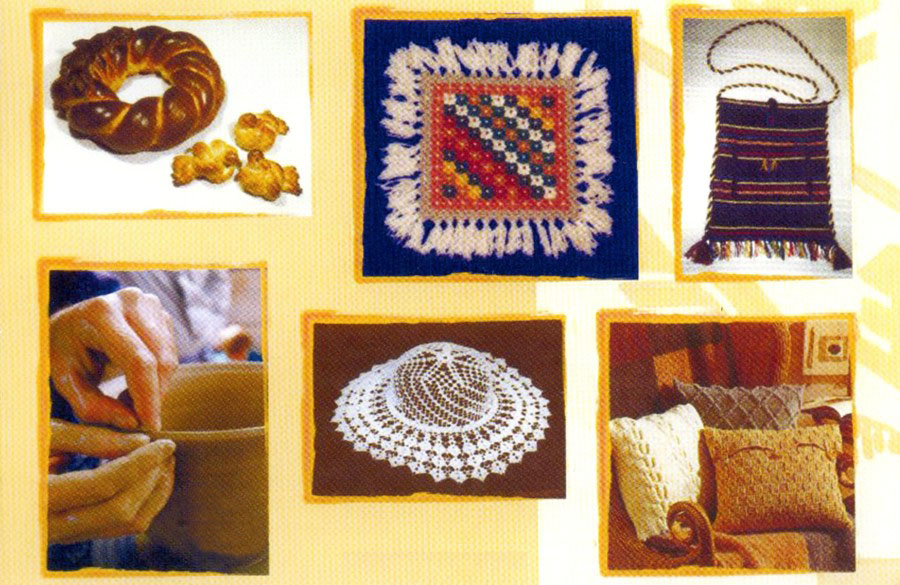 Artistic handicrafts products